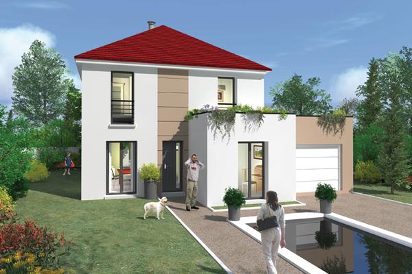 Une maison moderne personnalisable bien construire - Photos maison moderne ...