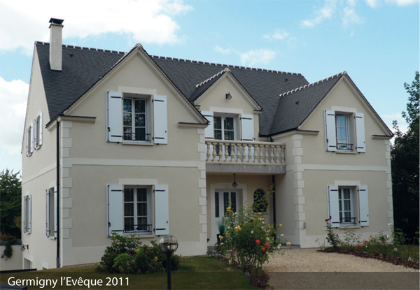Faire batir une maison beautiful maison tage de m avec garage sur terrain de m with faire batir for Batir une maison