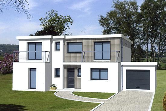 Les maisons baticonfort construites en b ton cellulaire for Maison en beton banche