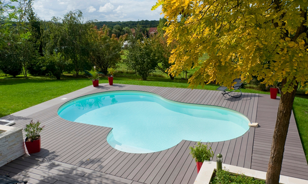Piscine ronde semi enterr e pas cher for Piscine enterree pas cher