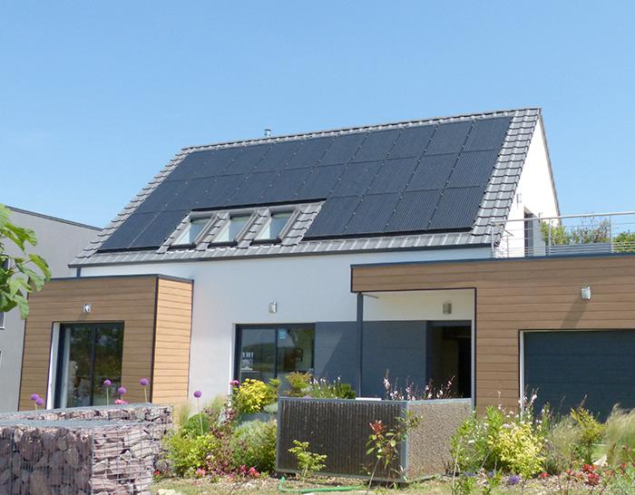 Photovoltaique et maison individuelle faisons le point bien construire - Panneau solaire maison ...