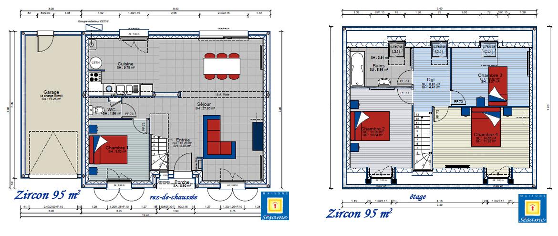 Comment imaginez vous l int rieur de votre future maison for Plan de maison avec combles amenages