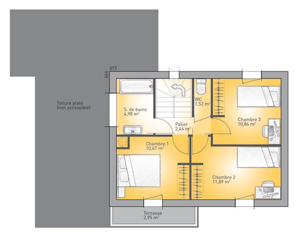 tarif maison france confort maison structure metallique with tarif maison france confort. Black Bedroom Furniture Sets. Home Design Ideas