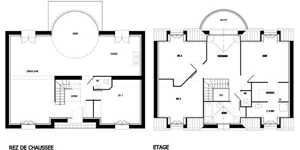 Plan Pour Construire Sa Maison. Interesting Plan Maison C With Plan