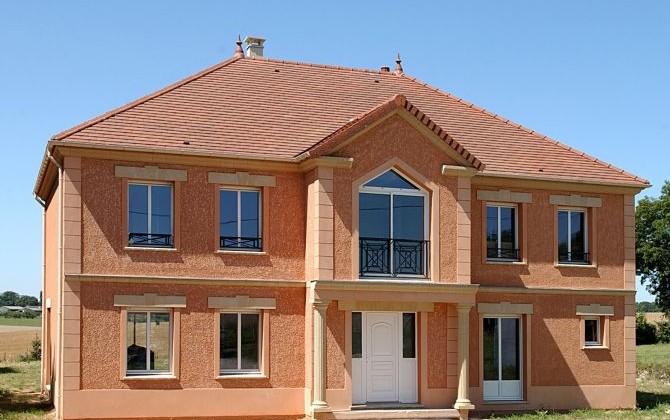 Une maison Pavillon Français construite sur mesure