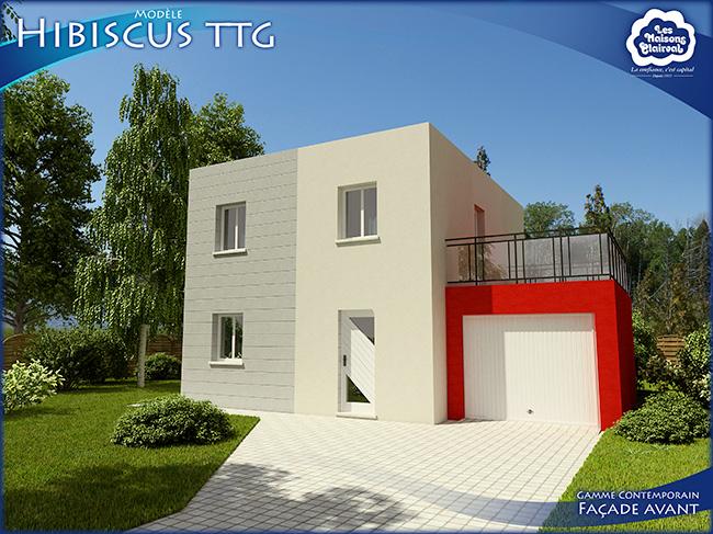 Modèle Hibiscus de Maisons Clairval