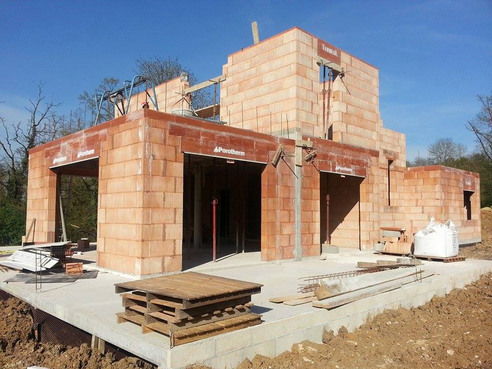 Contemp chantier with batir une maison for Batir maison prix