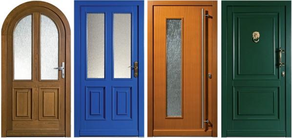 portes en bois